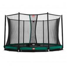 Батут Berg InGround Favorit Green 380 см с сеткой Comfort