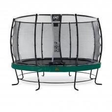 Батут Exit Elegant Premium Green 366 см с сеткой Deluxe