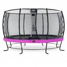 Батут Exit Elegant Premium Purple 427 см с сеткой Deluxe