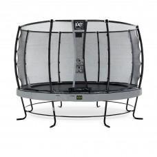 Батут Exit Elegant Premium Grey 366 см с сеткой Deluxe