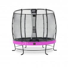 Батут Exit Elegant Premium Purple 253 см с сеткой Deluxe