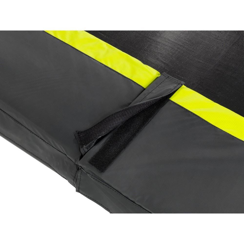 Батут Exit Silhouette Black 244 см с сеткой