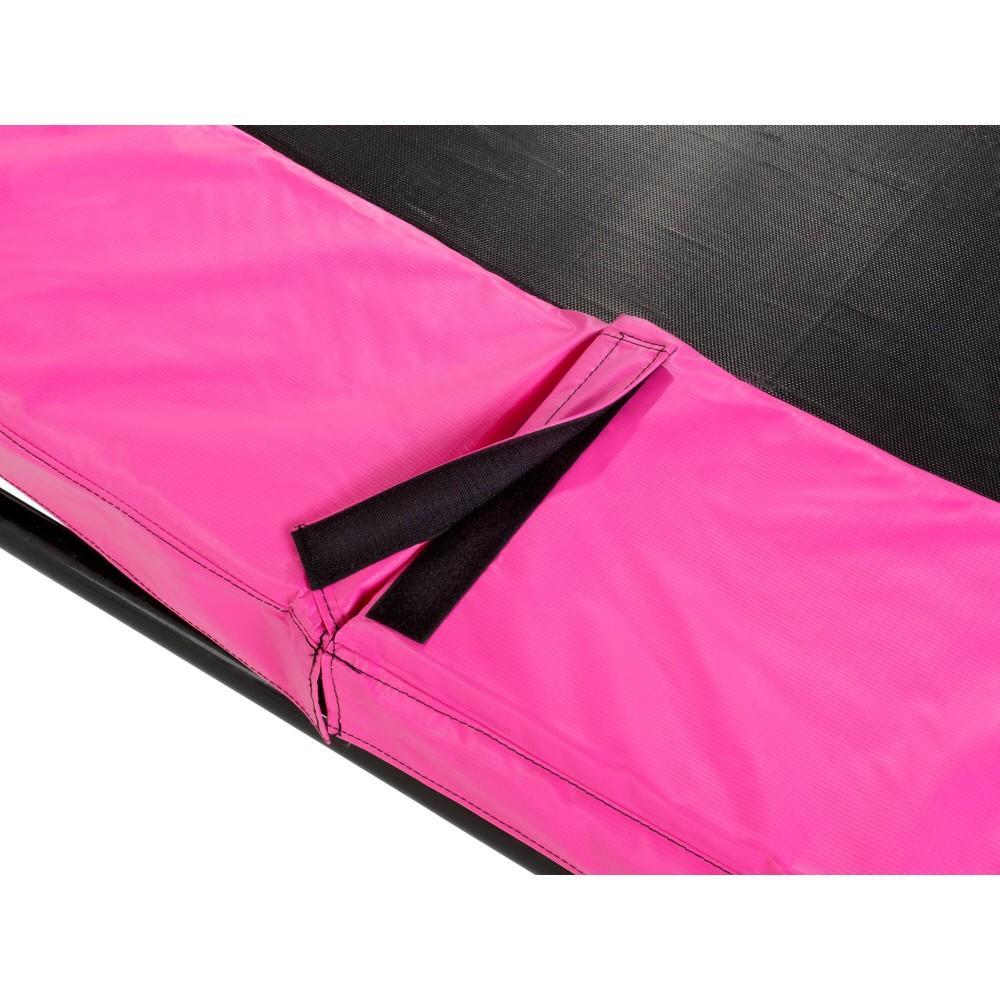 Батут Exit Silhouette Pink 244 см с сеткой