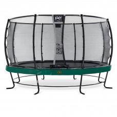 Батут Exit Elegant Premium Green 427 см с сеткой Deluxe