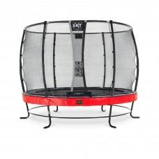 Батут Exit Elegant Premium Red 305 см с сеткой Deluxe