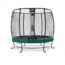 Батут Exit Elegant Premium Green 253 см с сеткой Deluxe