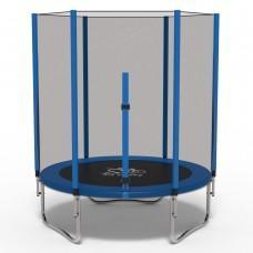 Батут с сеткой FitToSky Blue 140 см