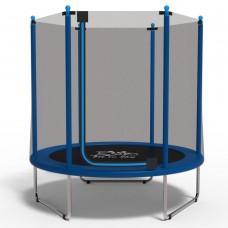 Батут с сеткой FitToSky Blue 152 см