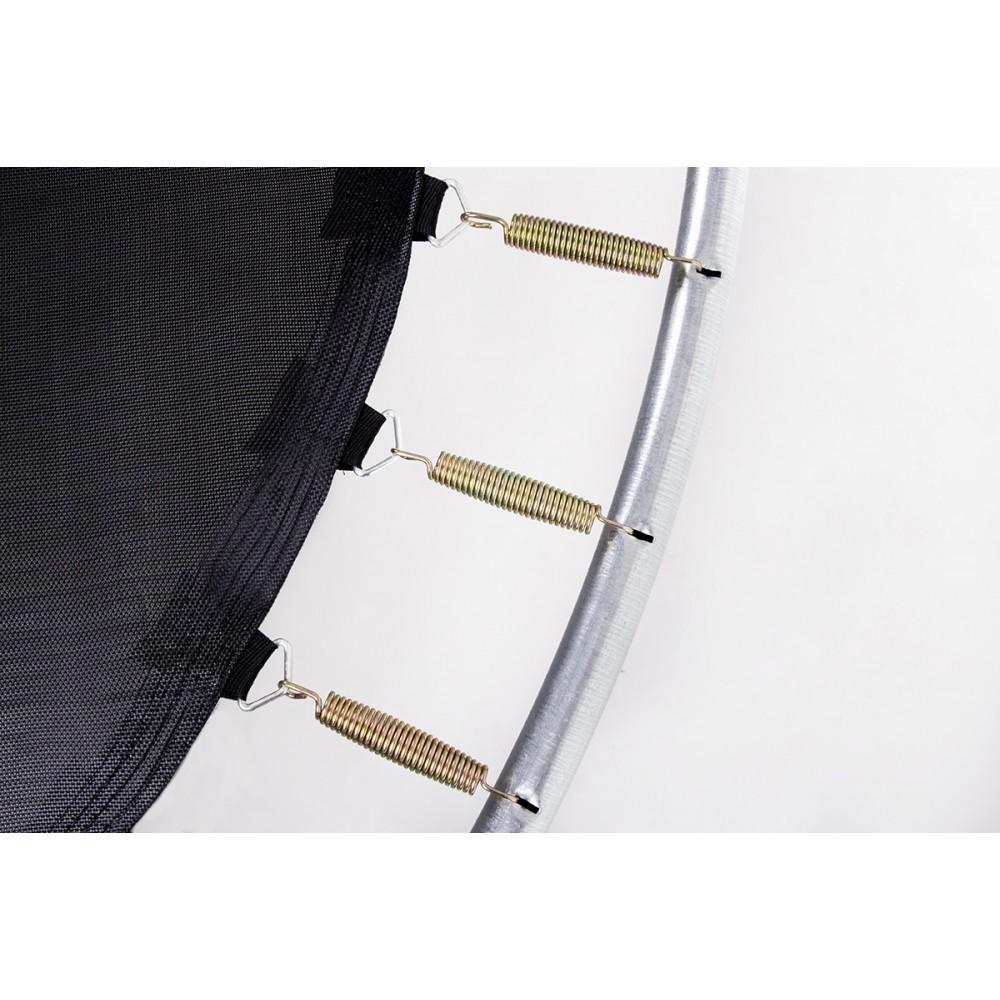Батут Hop-Sport Blue 488 см с внешней сеткой и лестницей