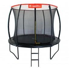 Батут inSPORTline Flea 305 см с сеткой и лестницей