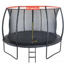 Батут inSPORTline Flea 430 см с сеткой и лестницей