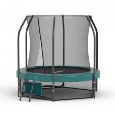 Батут Proxima Premium 183 см с сеткой и лестницей