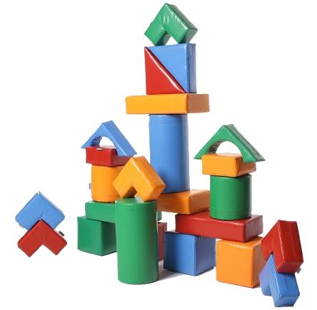 Детские мягкие игровые модули